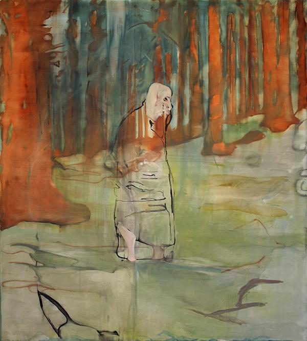 Ragnar Þórisson. Untitled, 2013; oil on canvas; 200 x 170 cm. Courtesy of Reykjavík Art Museum.