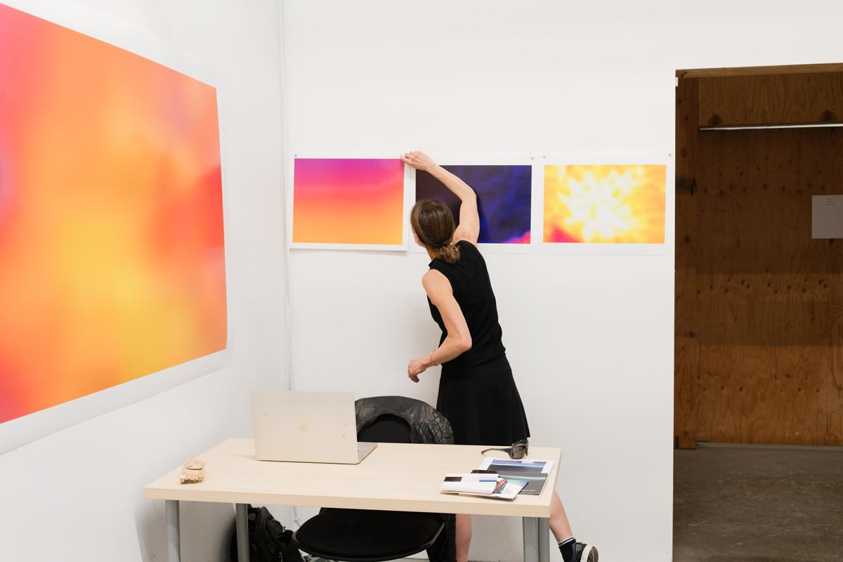 Blatt in her San Francisco studio.(Graham Holoch/KQED)