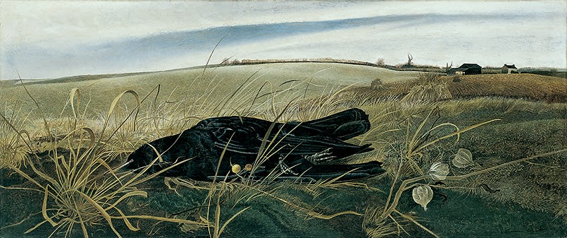 Andrew Wyeth,  Winter Fields , 1942