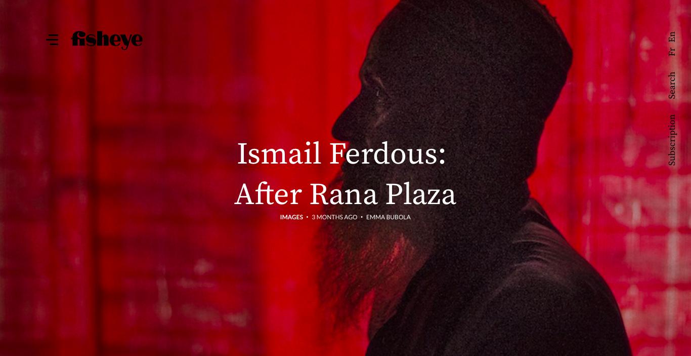 After Rana Plaza project on Fisheye Magazine