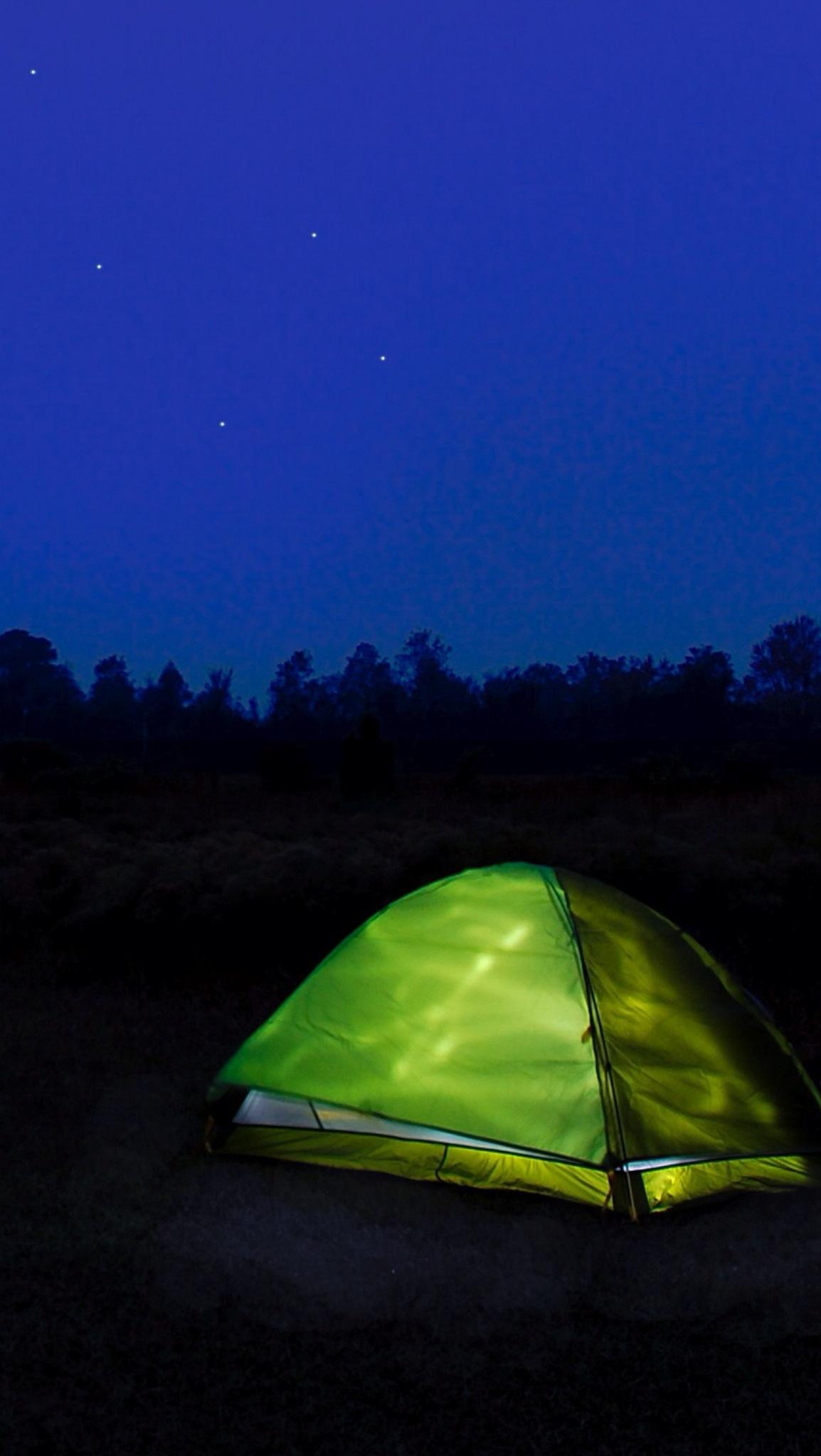 Happy Camper. Free Wallpaper