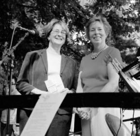 Peggy Friedman Introducing the Washington Square Music Festival