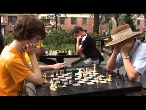 Kids Playing Chess in Washington Square Park