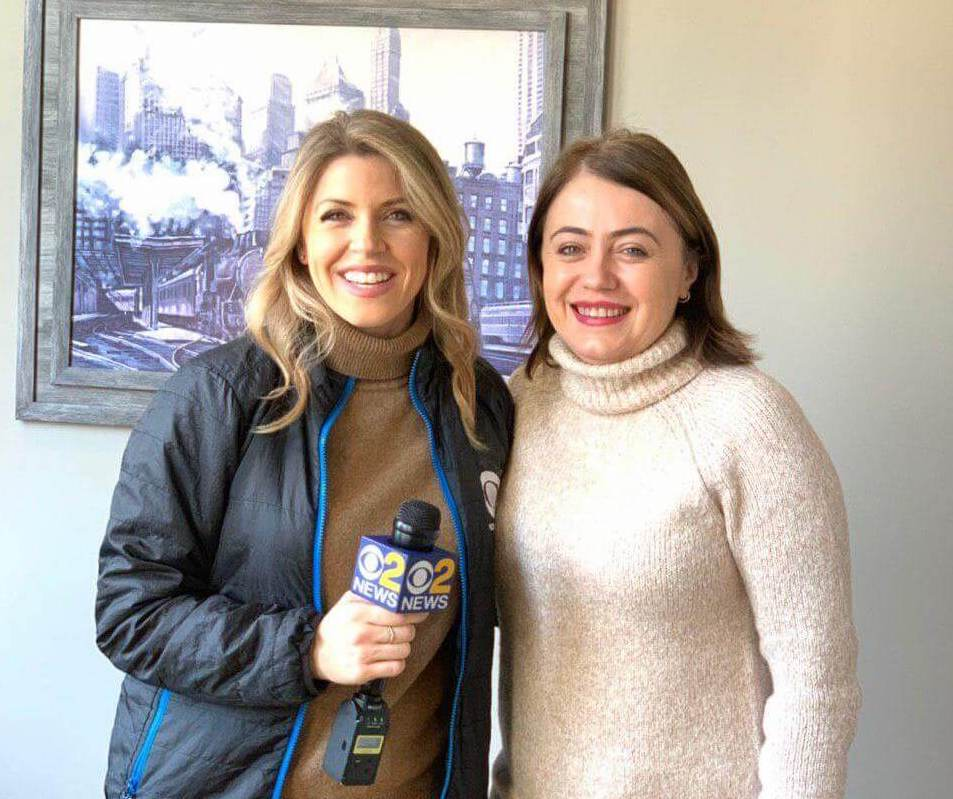 Irina Popa-Erwin & Natalie Duddridge of CBS News NY