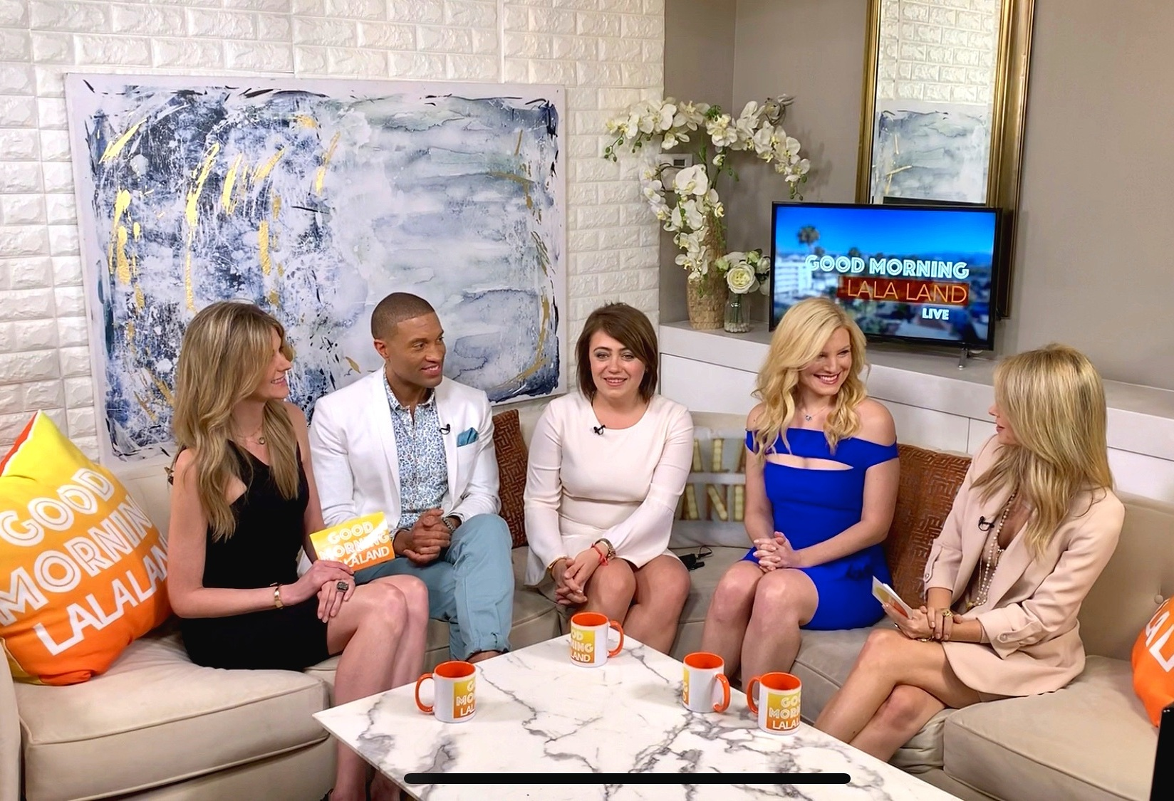Irina Popa-Erwin of The NYC Life Coach on Good Morning LaLa Land TV Interview