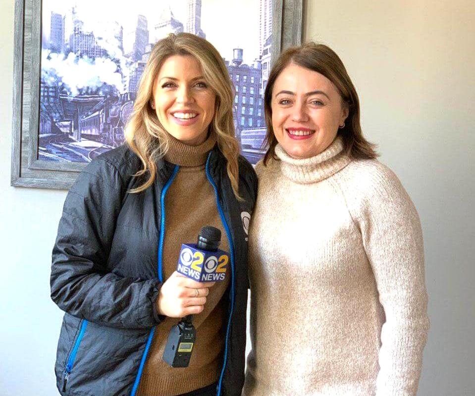 Irina Popa-Erwin of The NYC Life Coach on CBS NY