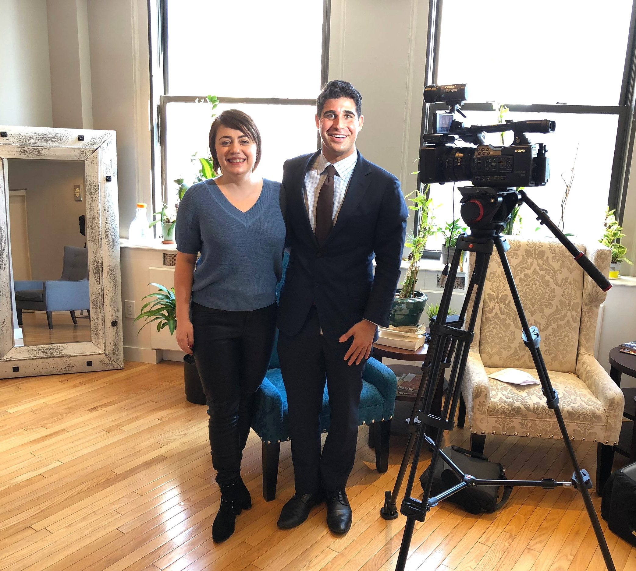 Irina Popa-Erwin of The NYC Life Coach on CBS NY Interview by Marc Liverman