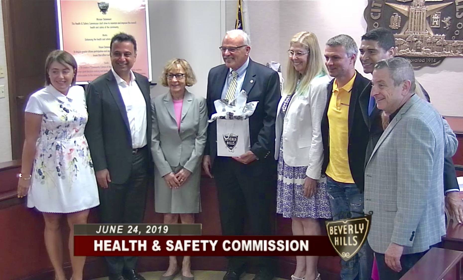 BEVERLY HILLS HEALHT & SAFETY COMMISSION