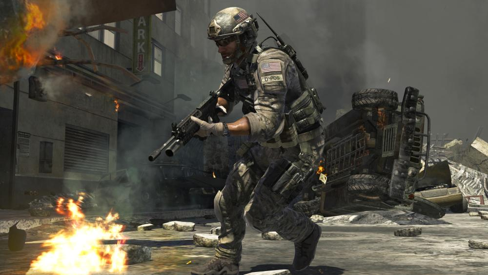 No (real) soldiers die in the conflicts depicted by games