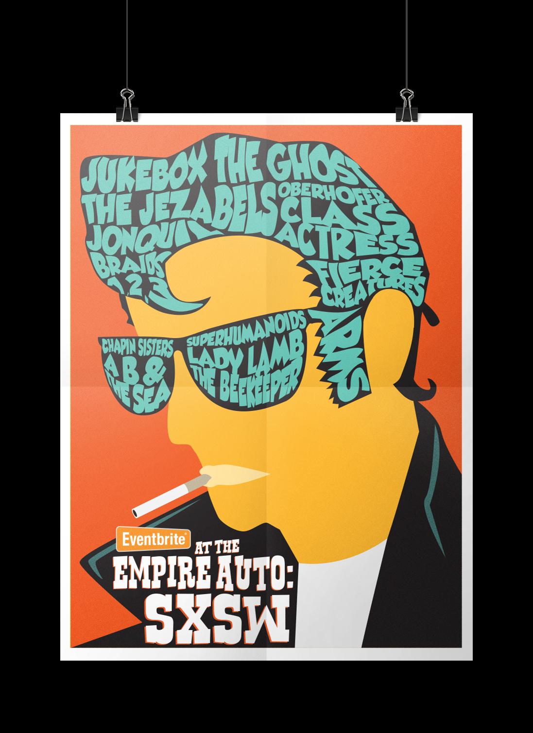 Eventbrite SXSW Poster