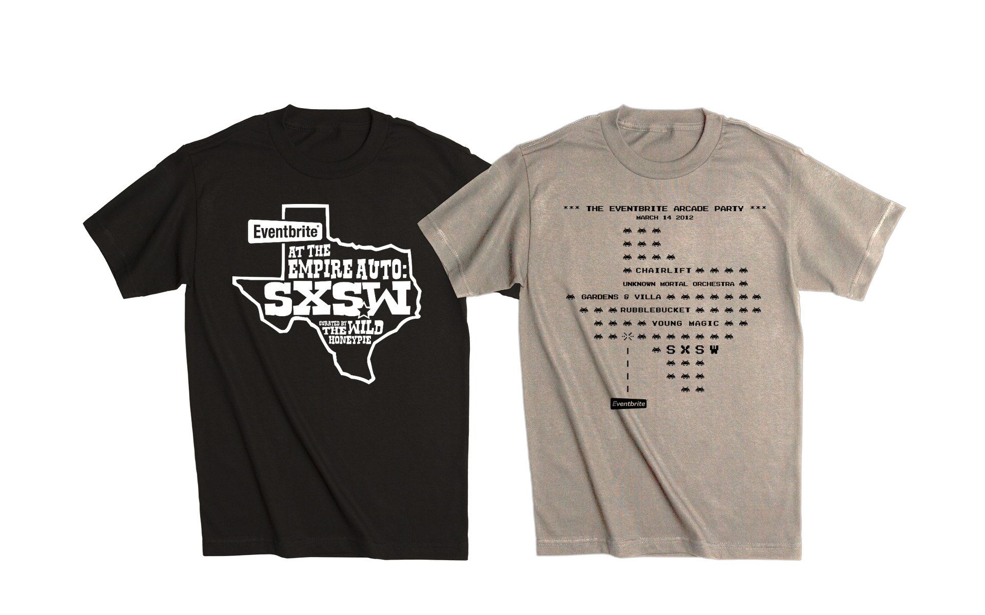 Eventbrite SXSW T-Shirts