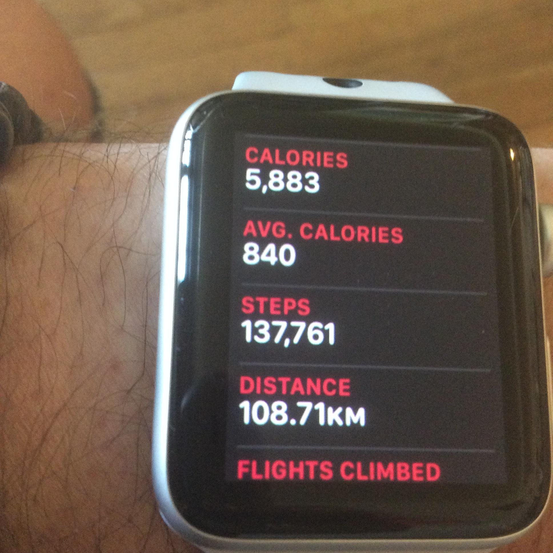 Apple Watch Activity Report
