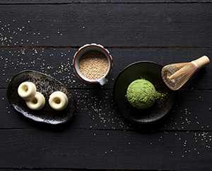 白芝麻抹茶巧克力   Chocolate with White Sesame & Matcha