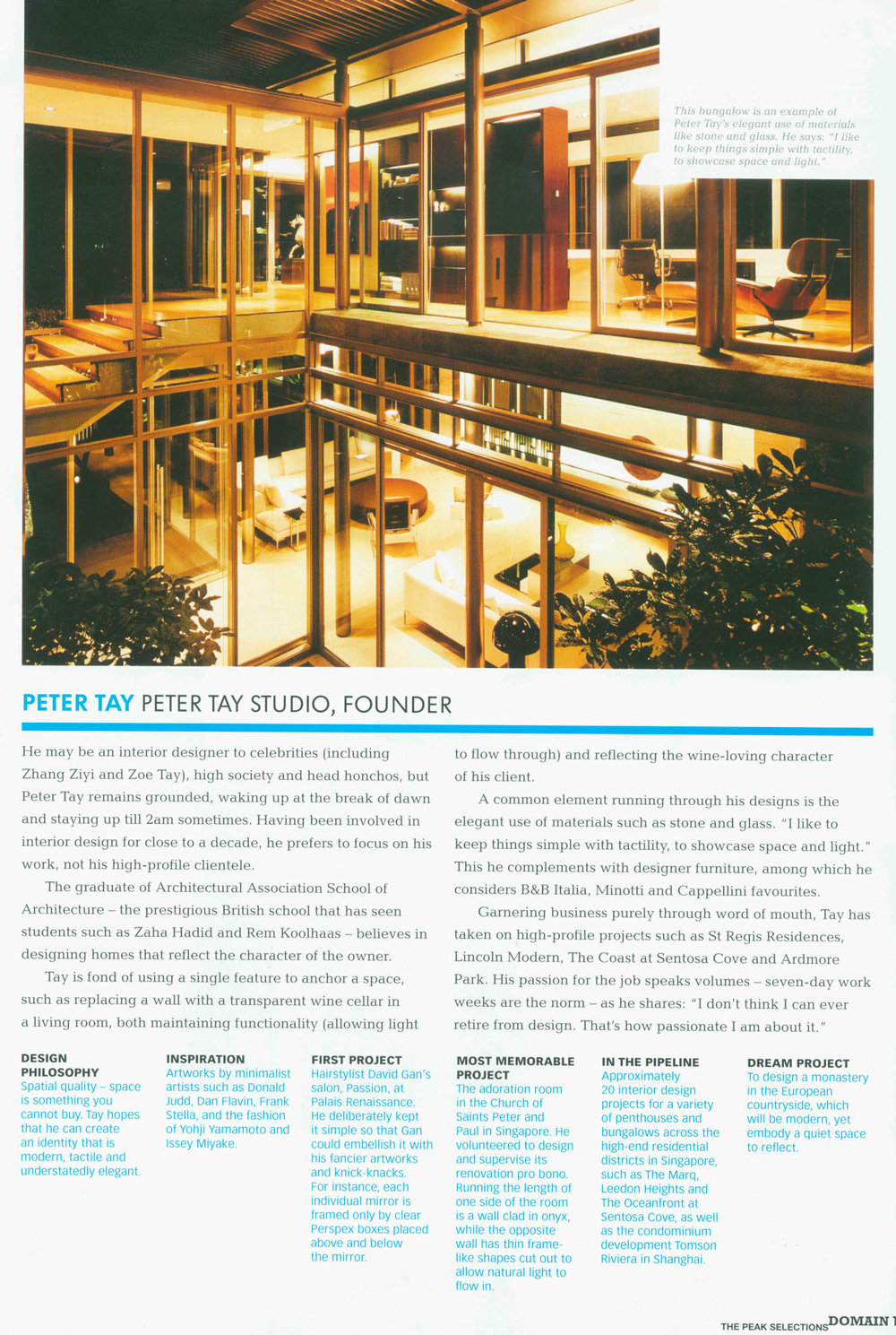 2011 Issue 3 / The Peak Magazine