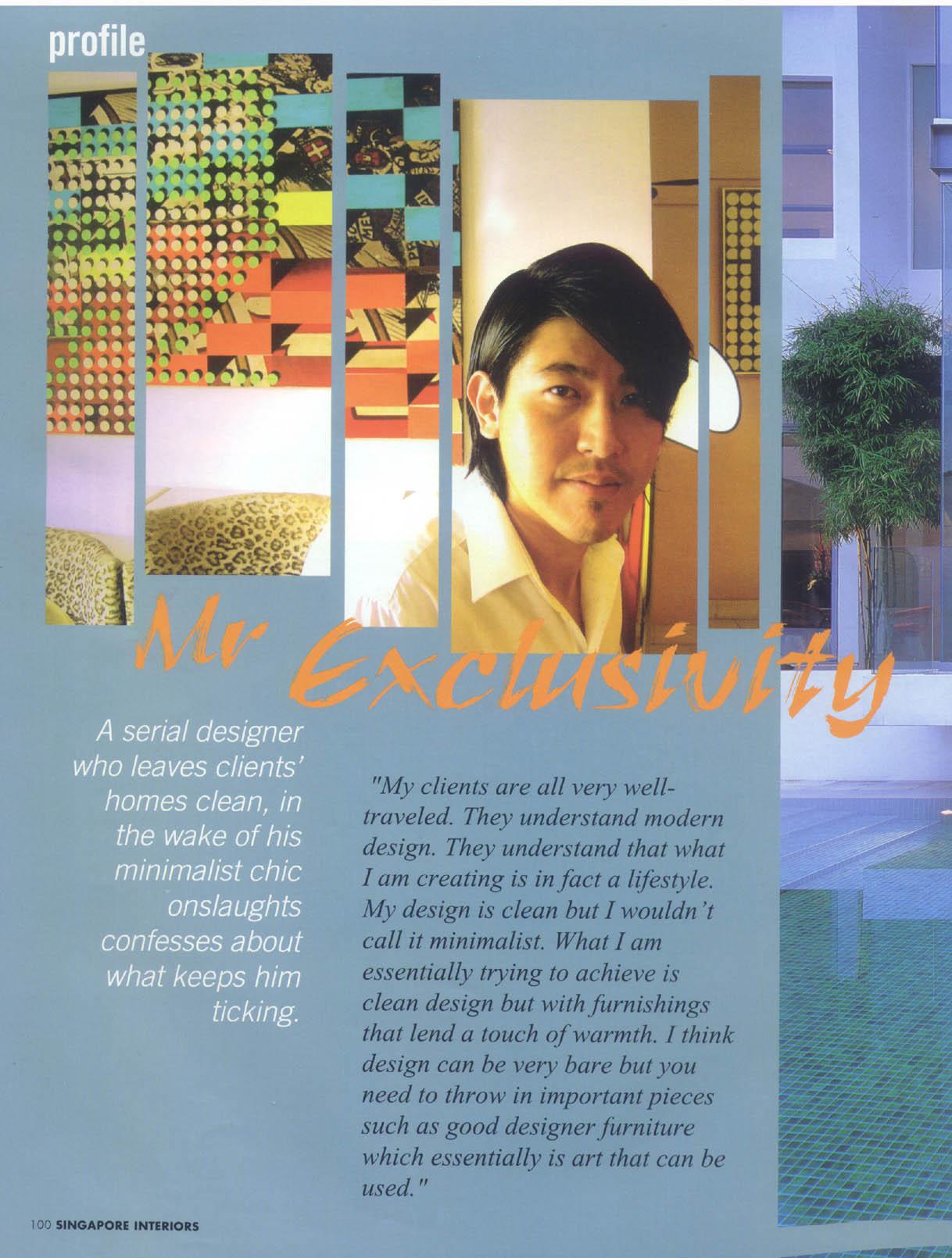 2002, Dec issue / Interiors magazine