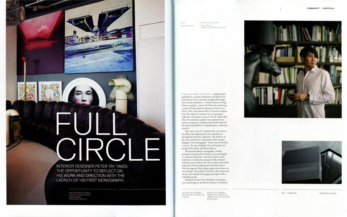 2013 Oct / Cubes Magazine – 'Full Circle'