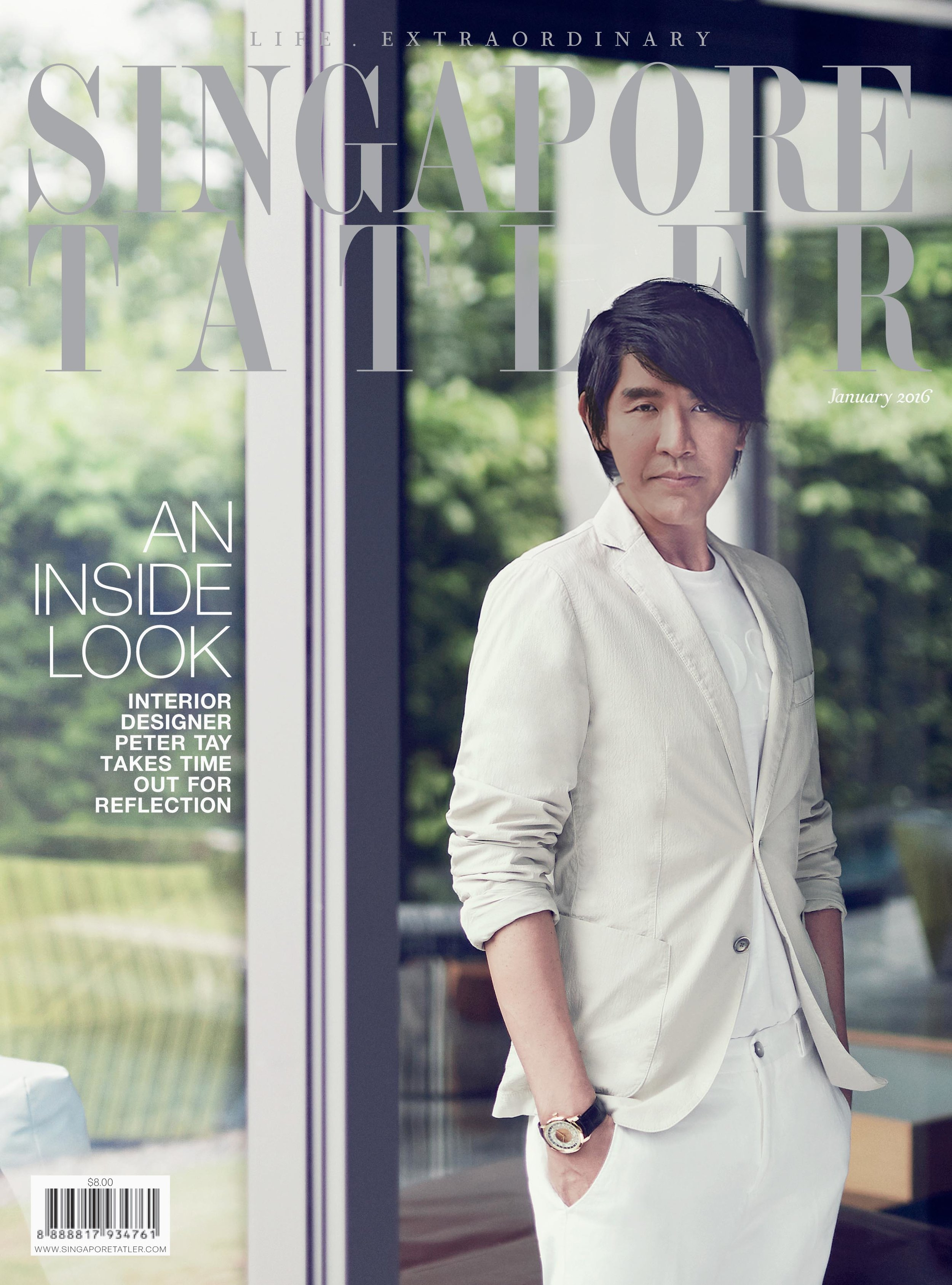 2016, Jan/Singapore Tatler Magazine