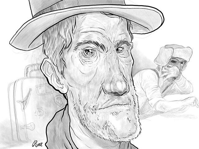 Just collecting my acorns. #doodle #digitalart #pencil #sketch #portrait #digitalpainting #sketchbook #acorns #overwhelmed