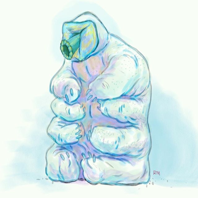 Just a little #waterbear #illustration
