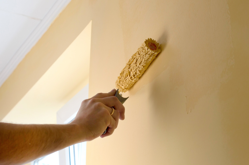 painting walls or trim first