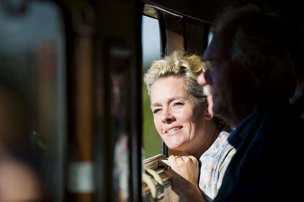 ritje met de stoomtrein van Breda naar Roosendaal