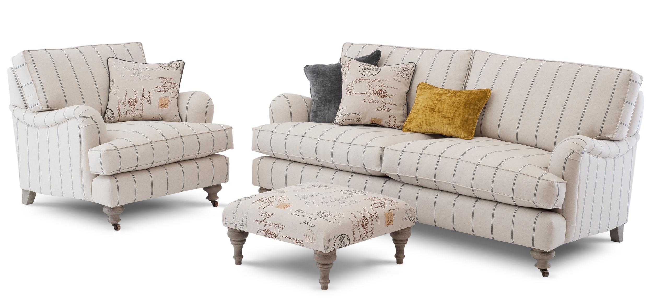 Bourne 3st Sofa & Chair & Footstool-84 Stripe removed.jpg
