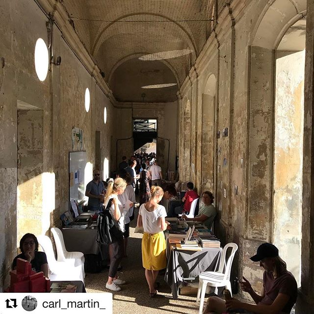 The crew is back at the #artbookfair in #Arles today. If you're over there y'all please go by and say #Bonjour! #rencontresdarles #cosmosarlesbooks #photobookjousting ———————————#Repost @carl_martin_ ・・・ Look for us for #falllinepress #carl_martin_ Carl_Martin_ #recontresarles #cosmosbooksarles  Tons of other publishers and #photobooks lovers, cannot go wrong, 12-8pm.