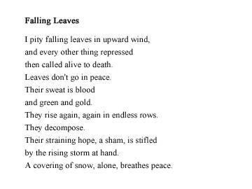 Poetry — Jesse Stanton
