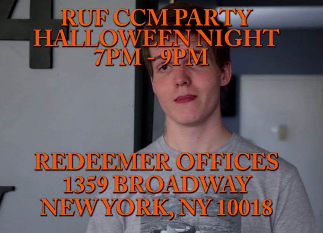 CCM Halloween Party