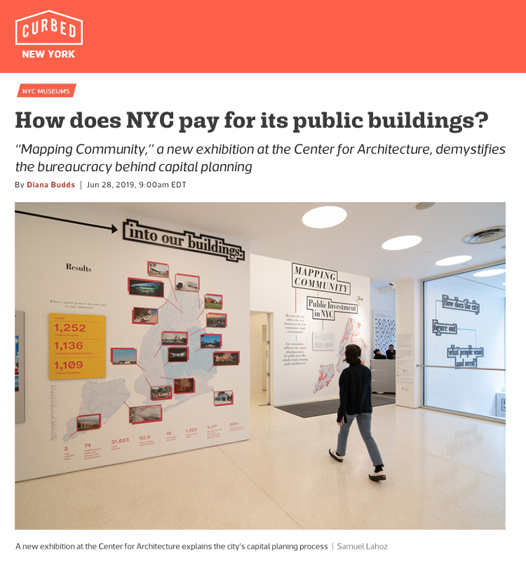 Exhibit curated by Faith Rose at the Center for Architecture is featured on Curbed NY.