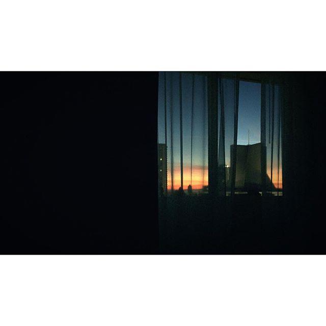 Woke up to the sunrise