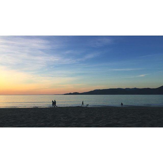Last bit of California sun