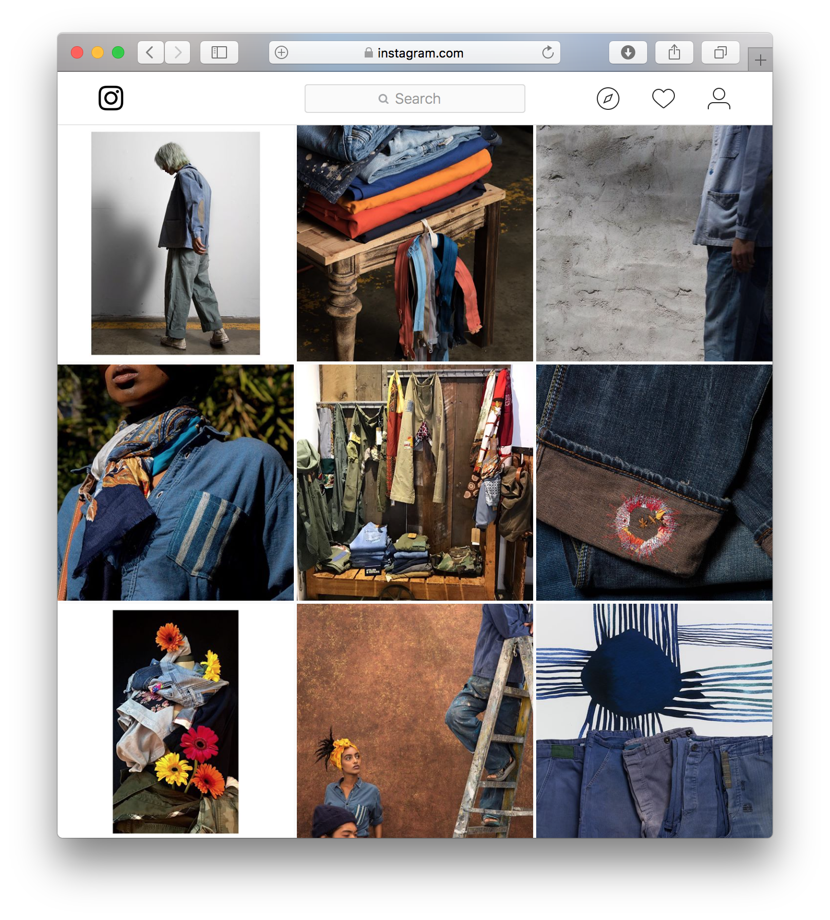 Atelier & Repairs Instagram