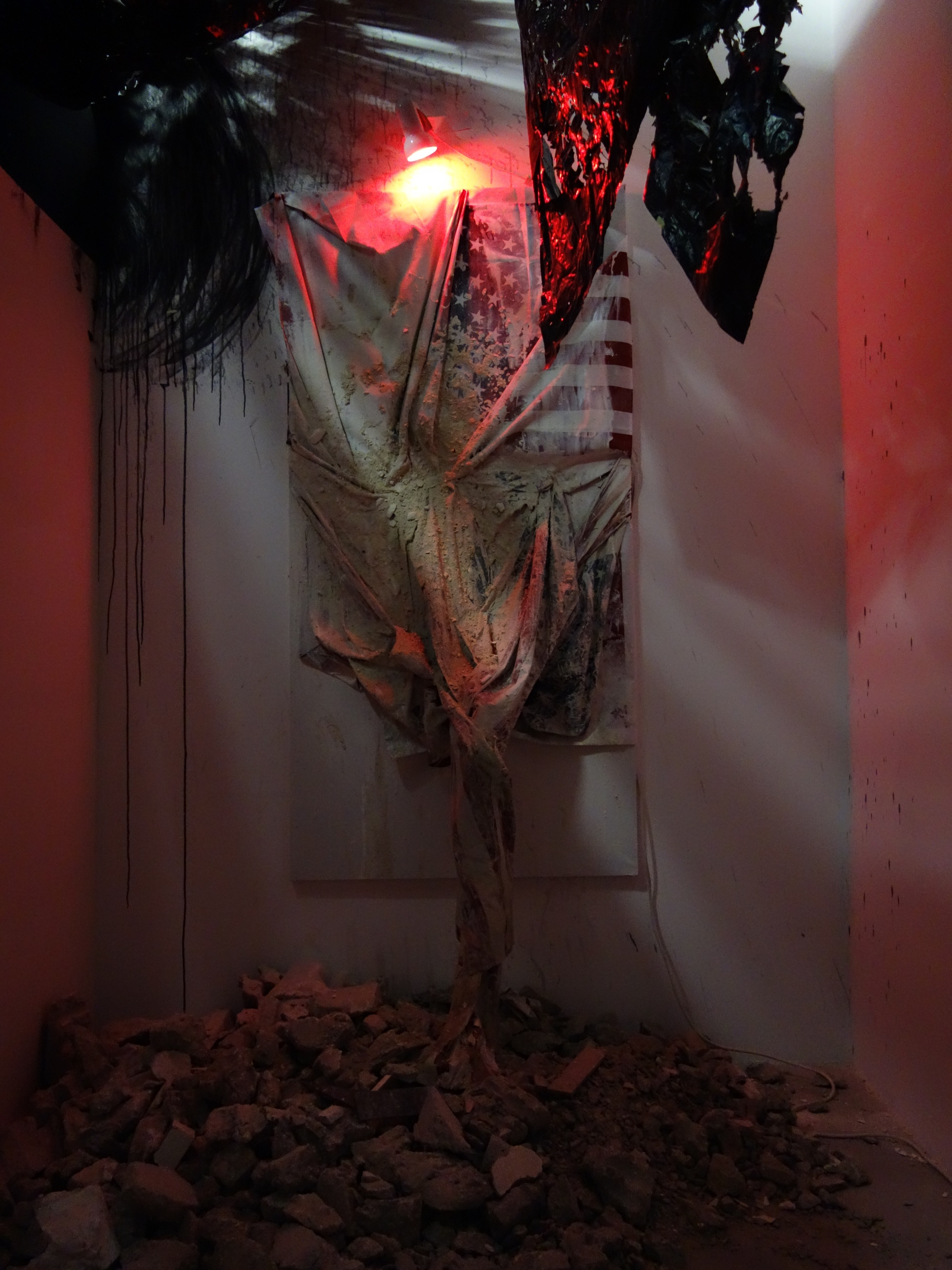 Abigail DeVille, Negation: Dusk to Dust, 2013