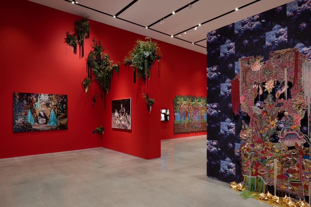 "Installation View of ""Radical Love"" at the Ford Foundation Gallery. Photo: Sebastian Bach."