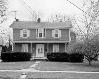 Langston's house in Oberlin,a National Historic Landmark