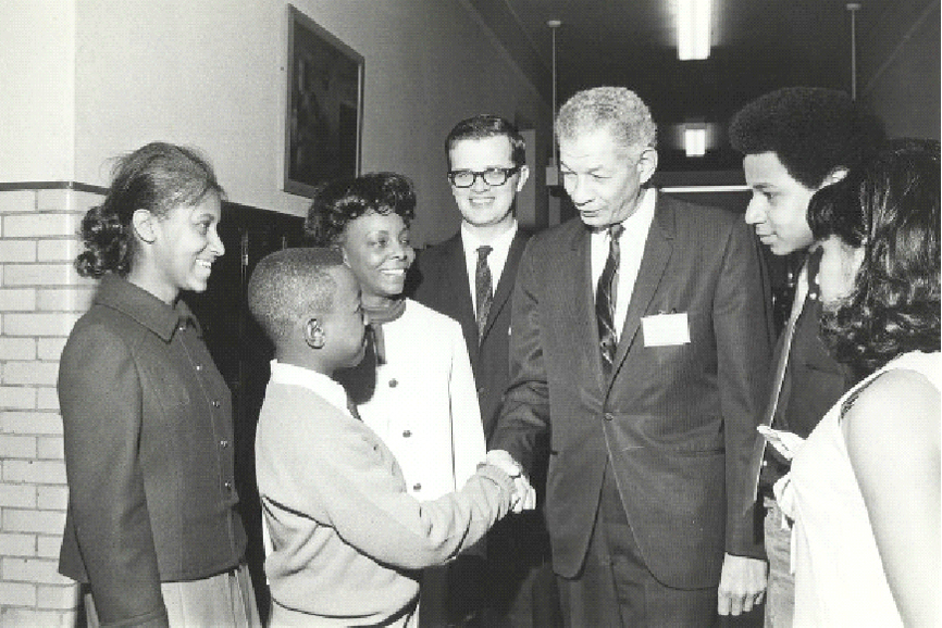 Career Day at Arthur Dixon Elementary School (1969) Chicago Urban League Photos (University of Illinois at Chicago)