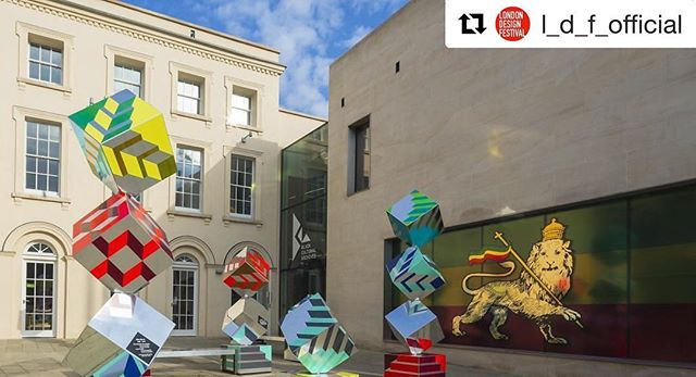 Thanks to @l_d_f_official for the post and bringing back some colourful memories on this grey day: our #installation @bcaheritage We Stand As Living Monuments for @brixtondesigntrail 📸 by @jamesjonesphotos #ldf16 #brixtondesigntrail #blackculturalarchives #design #London