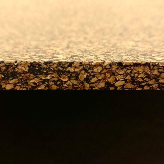 Adventures in cork and rubber composites #cork #rubber #composites #research #development #design