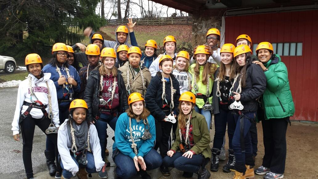 """Our youth group went to Church Camp for the first time in January. We spent the weekend zip-lining, playing basketball, worshipping and so many other things. But when their parents asked what their favorite part of camp was, they replied, """"The times we got to talk through what we learned together as a group."""""""