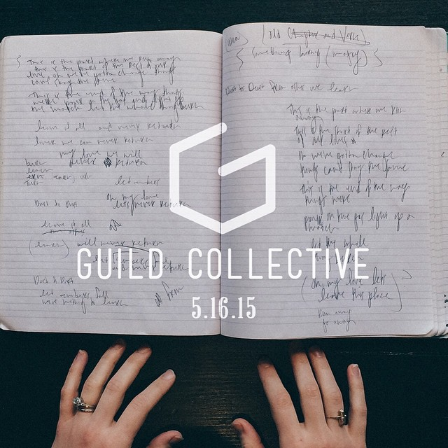 Guild Collective event that united all Guilds under one roof to tell a story about #process