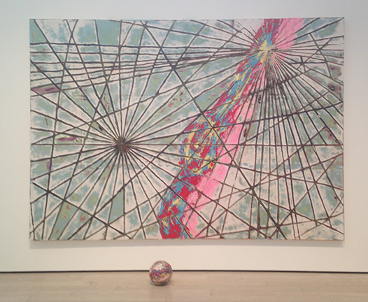 MARK BRADFORD, CARTS (2013) at LACMA