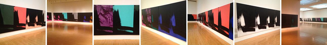 Andy Warhol's Shadows at MOCA