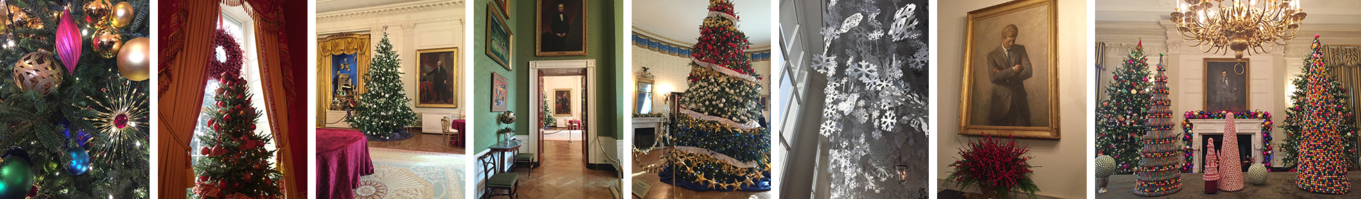 The White House tour was a visual treat at every turn.