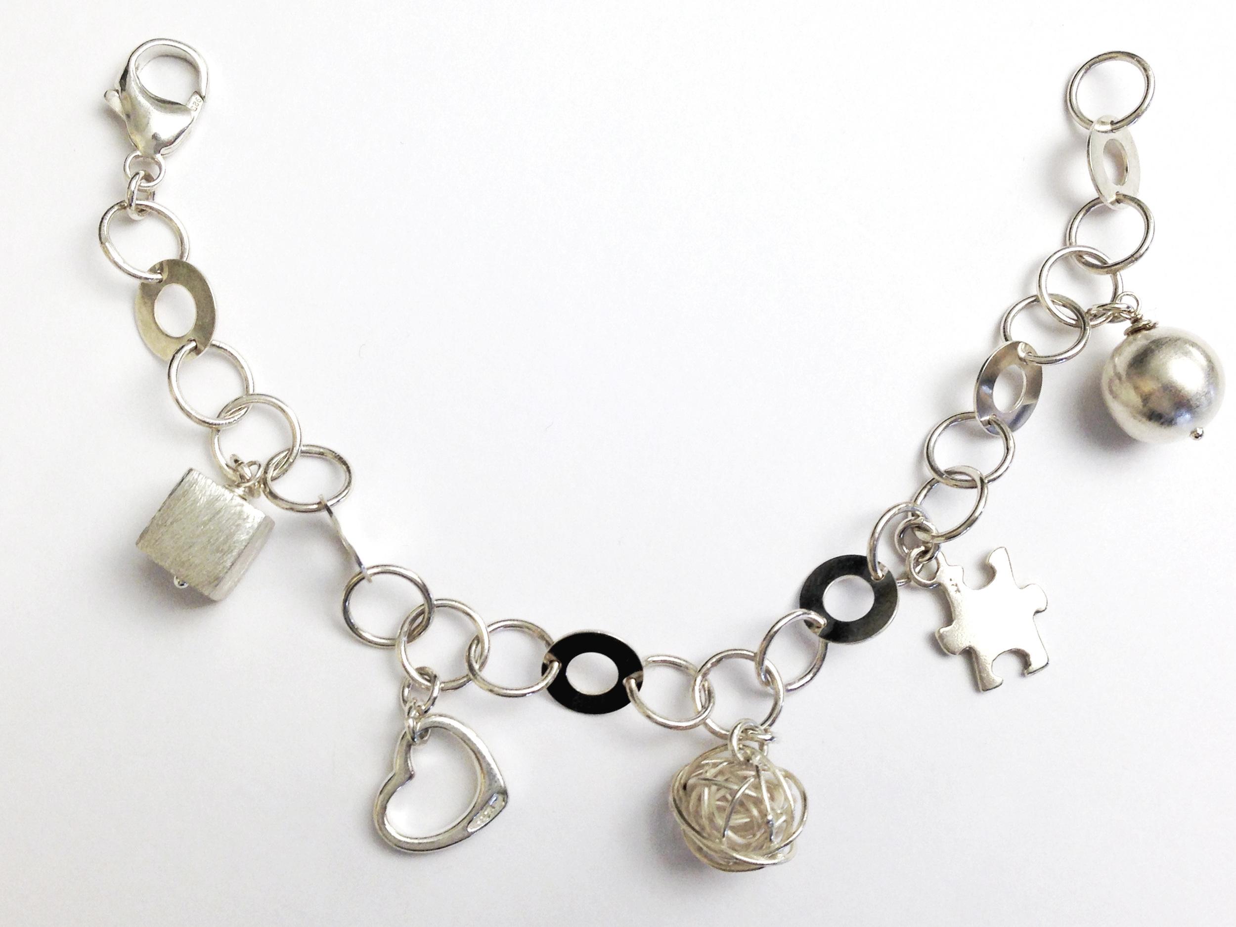Charm bracelet by Brenda Wong (Lirical)