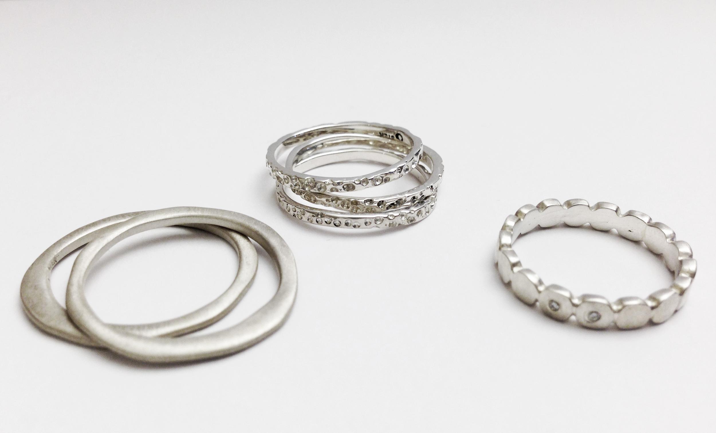 Stacking rings by Caelen Ellis (Fluid)