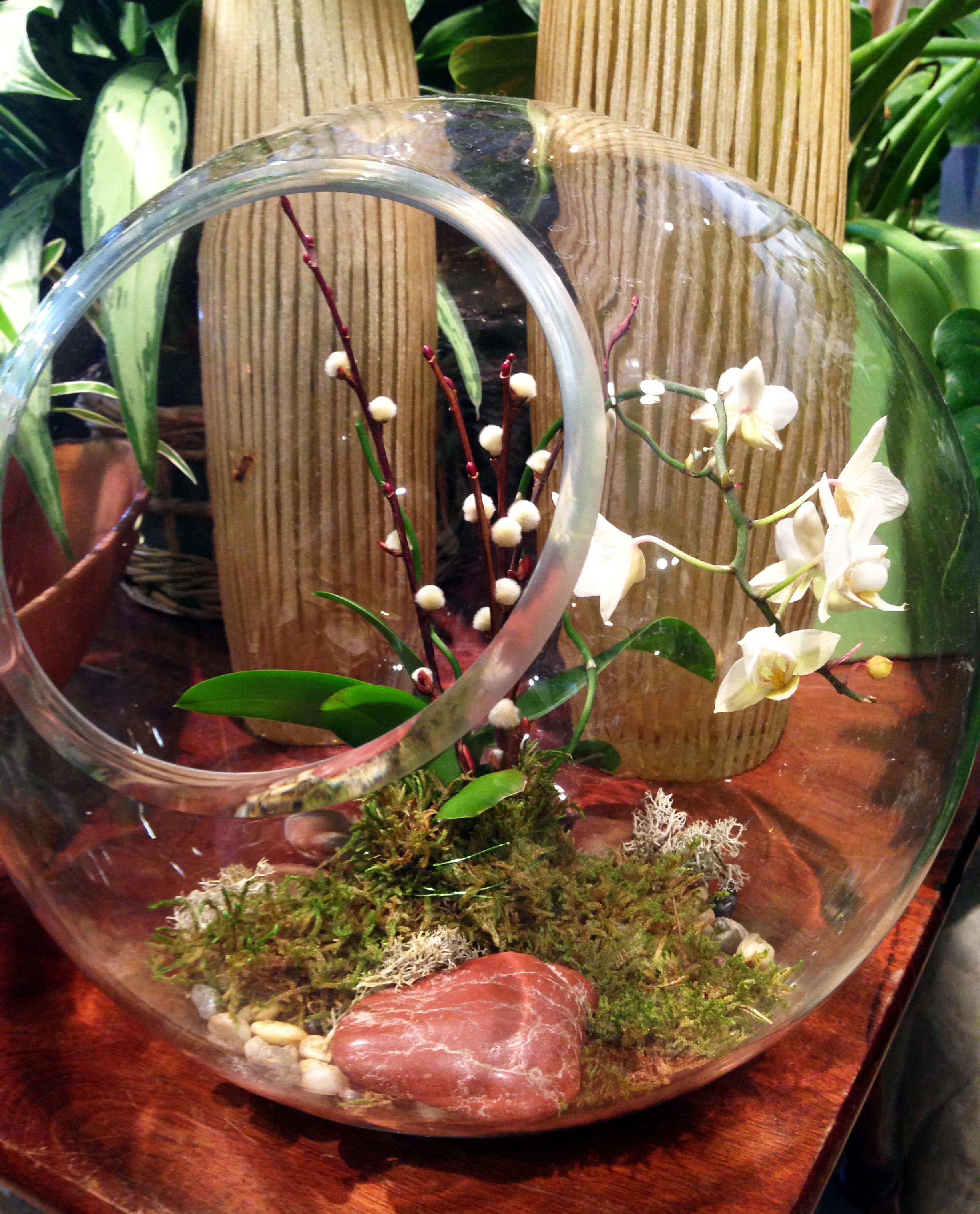 Flowers Talk Tivoli already has several beautiful arrangments to pick up.