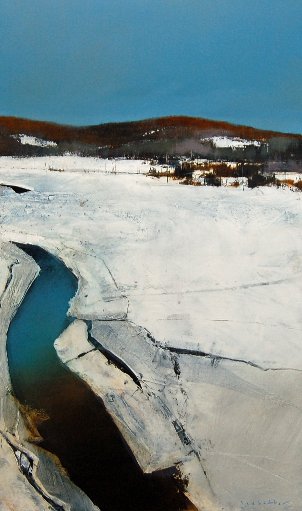 David Lidbetter, Val-des-Bois, Oil on Canvas