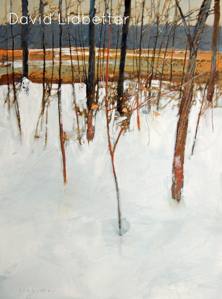 "David Lidbetter, Mer Bleue Ridge, Oil on Canvas, 16"" x 12"""