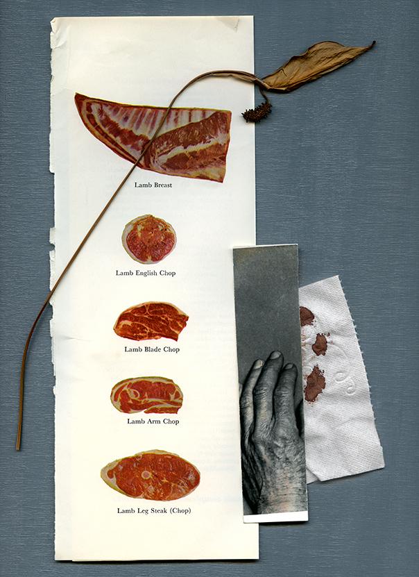 "Lamb Breast , photographic inkjet print, 32"" x 44"""